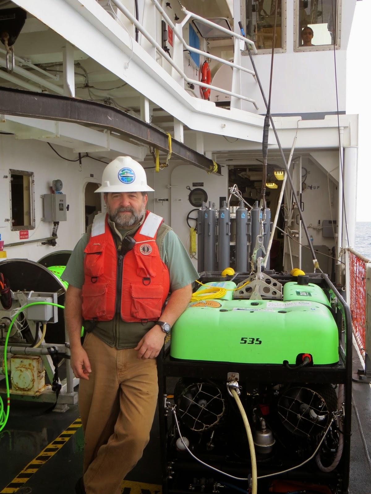 Chief Survey Tech and ROV