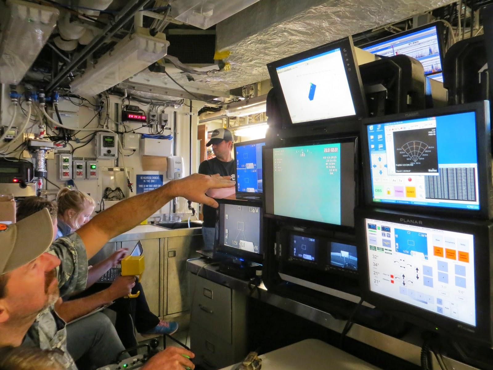 ROV footage
