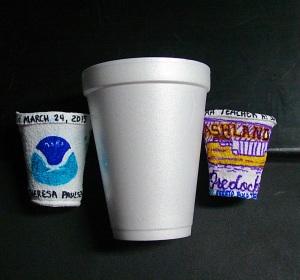 Shrunken cups