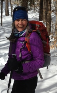 Julia West - skiing Feb 2015
