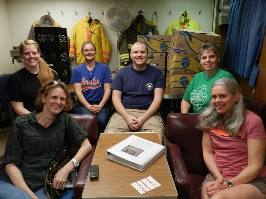 GU scientists, winter plankton