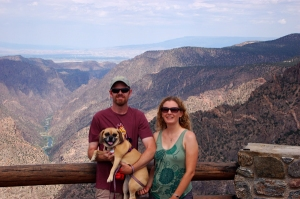 Family at Black Canyon of the Gunnison.