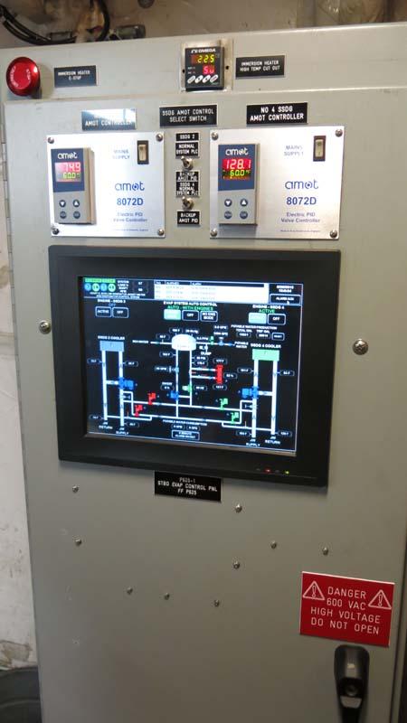 Evaporation controls. Photo by DJ Kast