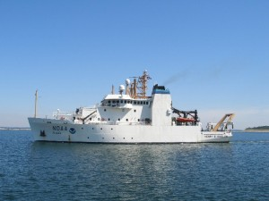 This is a photo of the NOAA Henry B. Bigelow Ship.  Credit to: http://www.moc.noaa.gov/hb/HB-June07.JPG