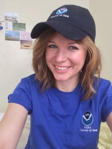 Representing the Teacher At Sea program