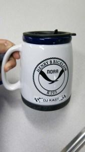 My new NOAA Henry B. Bigelow Mug! Photo by DJ Kast