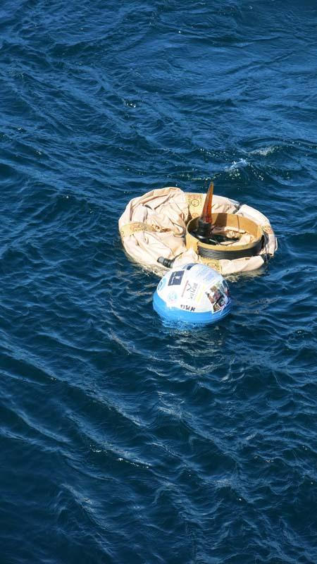 My buoy in the Water! Photo by DJ Kast