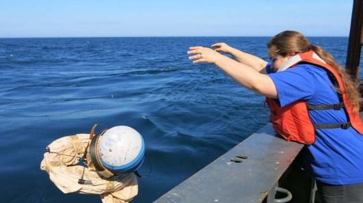 Deploy the Buoy! Photo by Jerry Prezioso