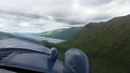 Kodiak by Air. This picture does no justice as to what you witness with your eyes.