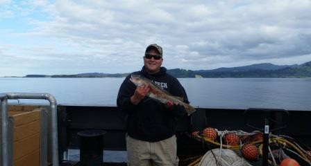 My first Alaskan Catch, a Pacific Cod
