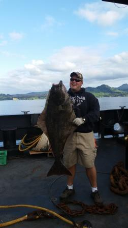 My 50 pound Halibut