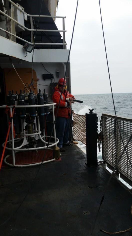 Deploying the sensor