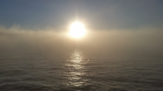 The sun is able to eliminate and produce fog