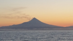 Shishaldin Volcano - One of Alaska's many active volcanoes