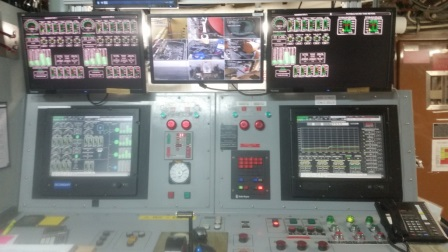 The Control Panel below deck