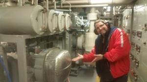 Where the Oscar Dyson makes fresh water