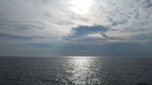 A view of the Gulf of Alaska