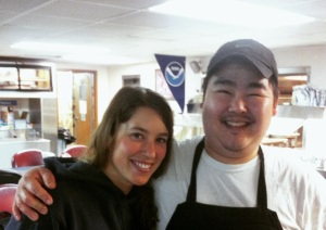 Chef Adam Staiger is full of smiles!
