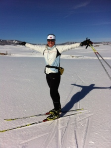 One of my passions: nordic skiing!