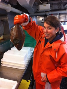 Flathead Sole - How these guys navigate the seafloor is beyond me!