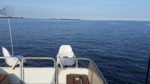 A beautiful day on the Indian River Bay