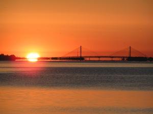 Sunrise on Indian River Bay
