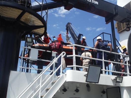 Zodiac dive boat