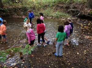 Student Citizen Scientists participate in the Streamkeeper Project