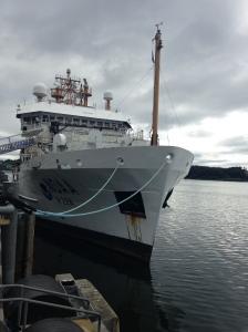 The Oscar Dyson in the Port Of Kodiak, Alaska