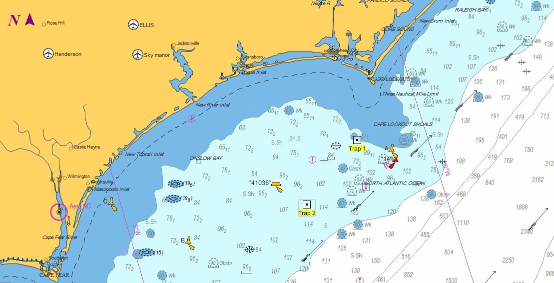 Atlantic Ocean NOAA Teacher At Sea Blog - Map showing ocean depths