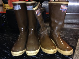 These boots are made for fishin'