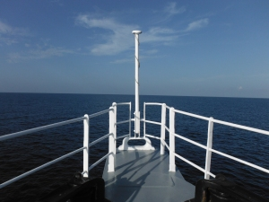 View from the Bow - Gulf of Mexico