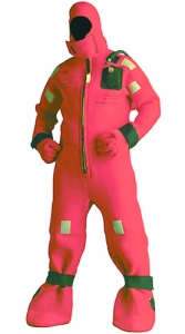 An example of a survival suit