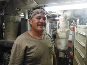 Many thanks to Jack Standfast for the engine room tour.
