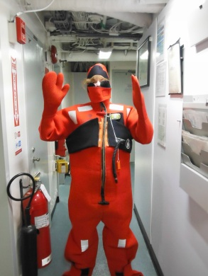 Survival Suit - Perfect Fit  Photo Credit: Lecia Salerno
