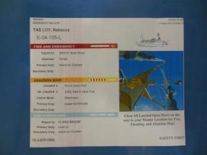 My Rainier safety card