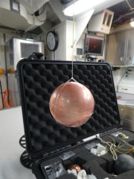Copper Calibration Sphere