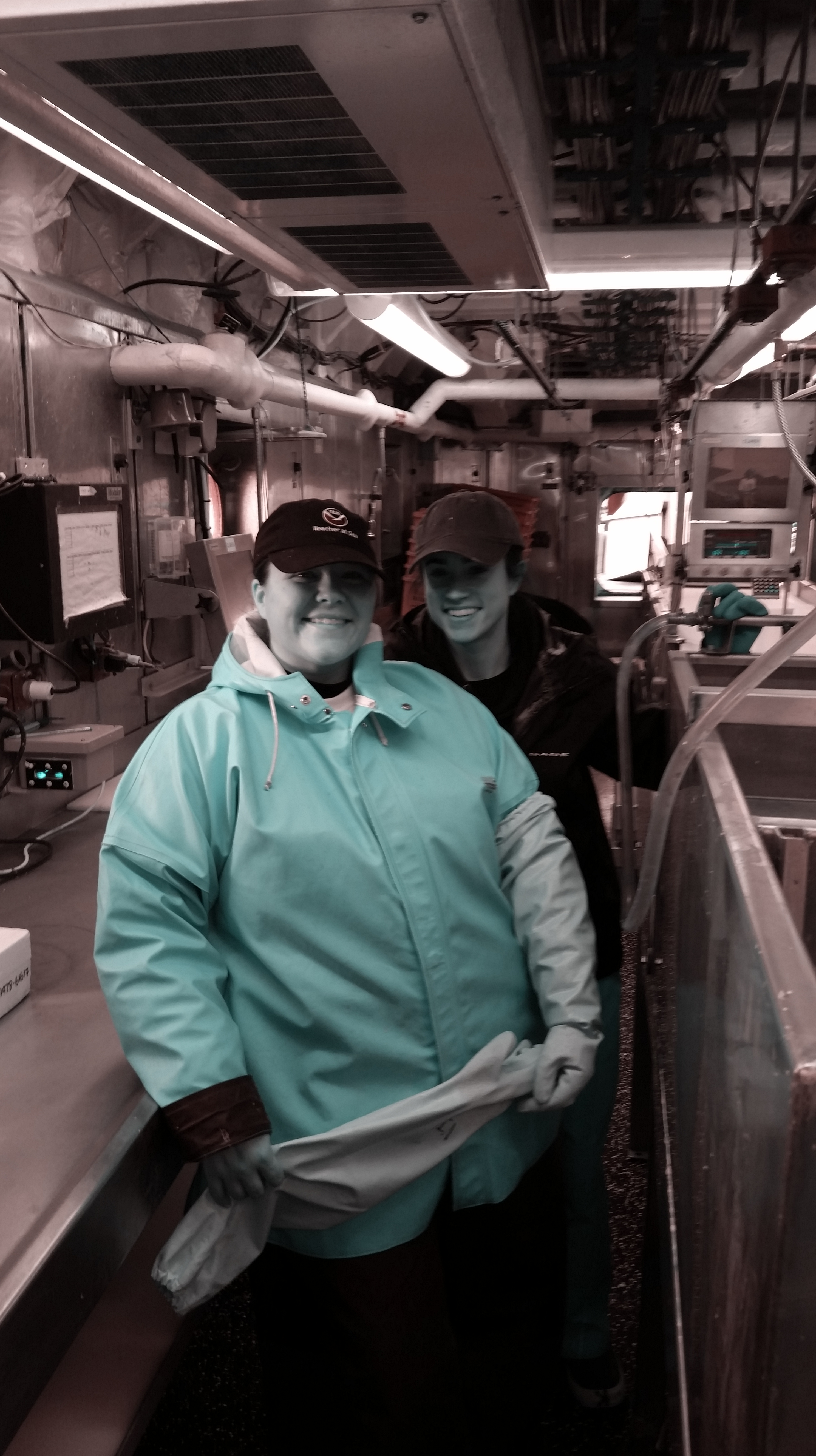 Acoustic Trawl Survey | NOAA Teacher at Sea Blog