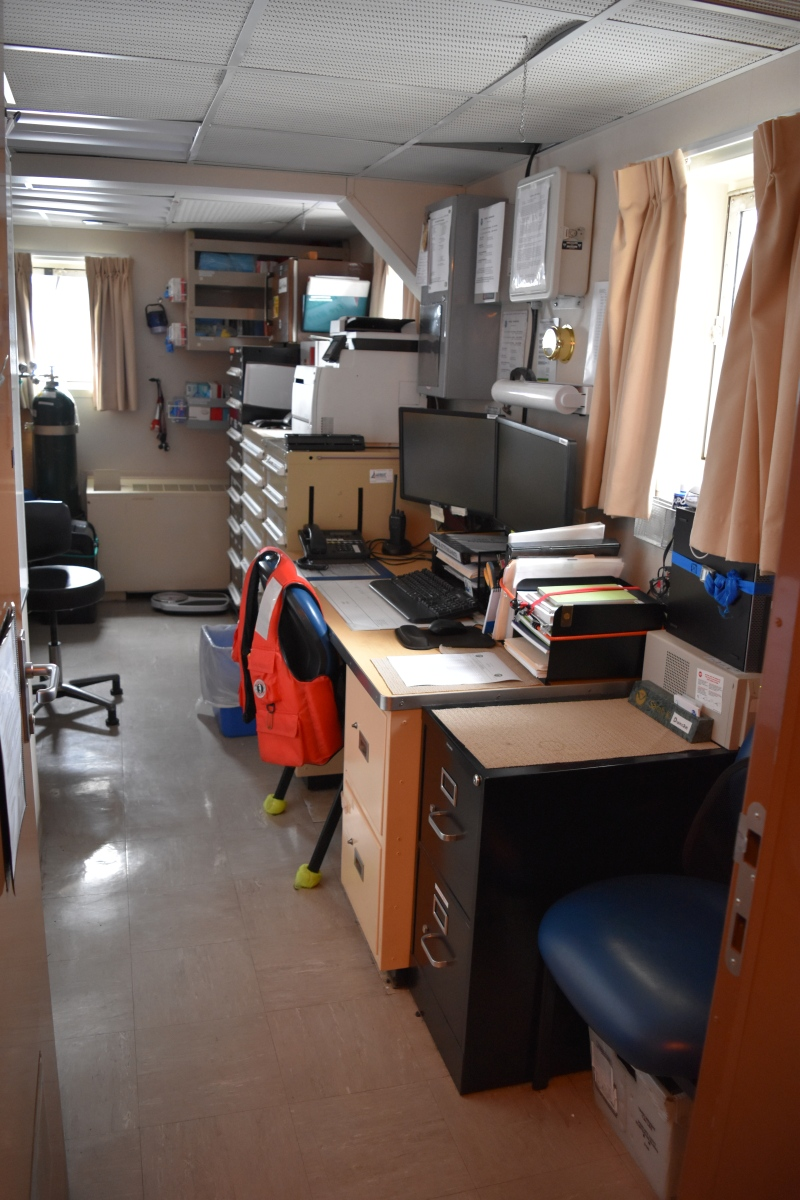 An office for a NOAA Corps officer on Shimada