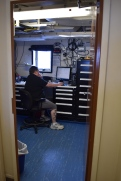 Electrical technician's office on Shimada