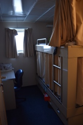 Stateroom on NOAA Ship Bell M. Shimada