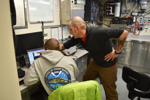 Troubleshooting the AUV