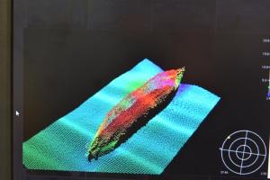 U-boat image courtesy of NOAA Ship Thomas Jefferson