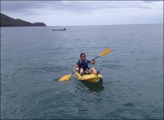 TAS Dana Chu kayaking