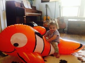 Found Nemo: in living room