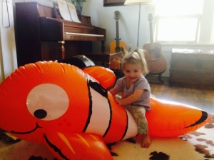Found Nemo: in living room