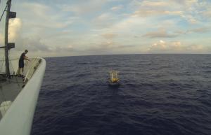 Navigating to buoy.
