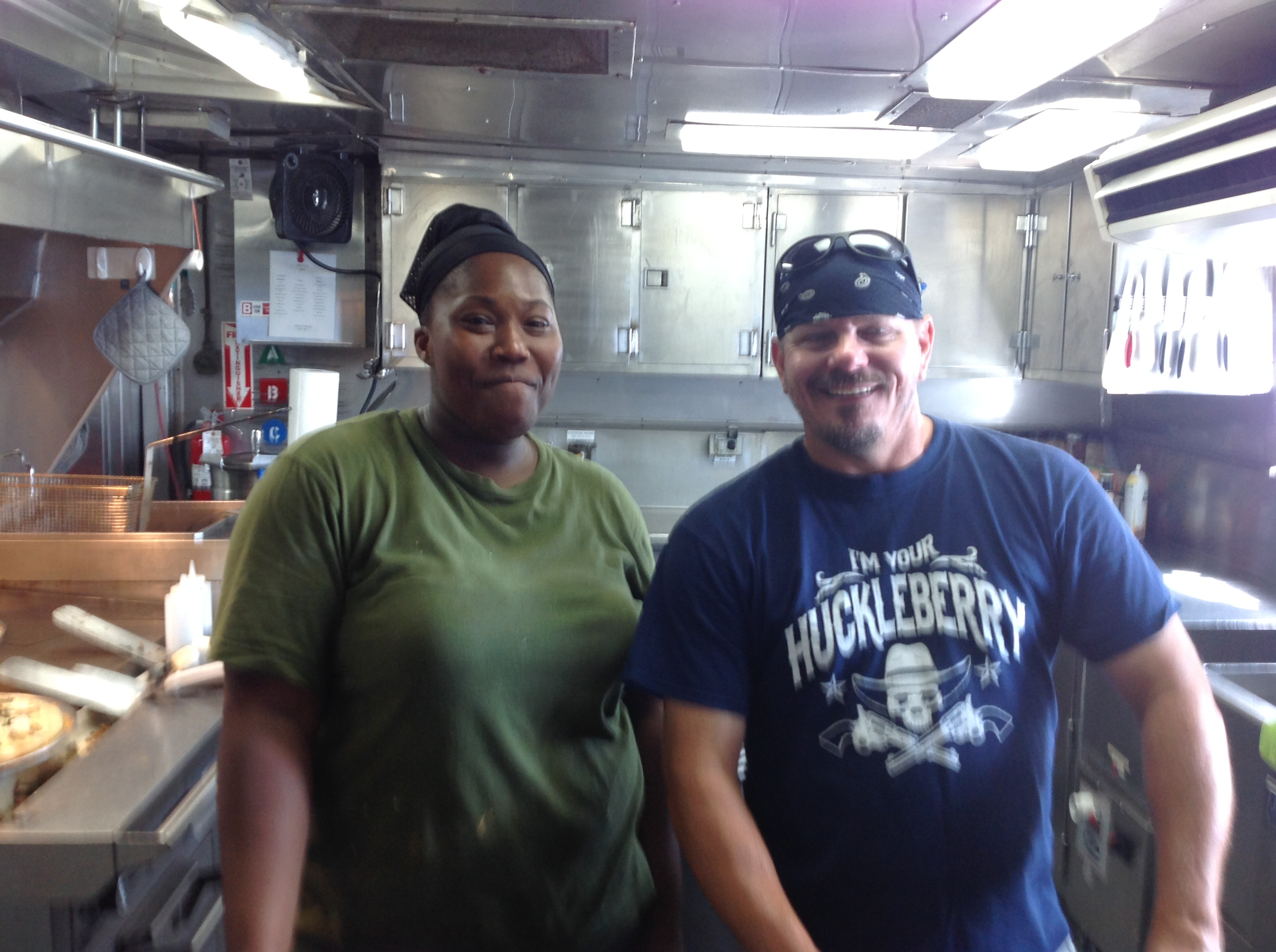 valerie-mccaskill-and-chuck-godwin-in-the-galley-of-noaa-ship-oregon-ii