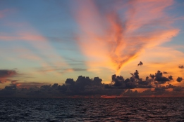 Matt took amazing sunset photos. NOAA FIsheries