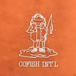 Cute logo on the wet weather gear
